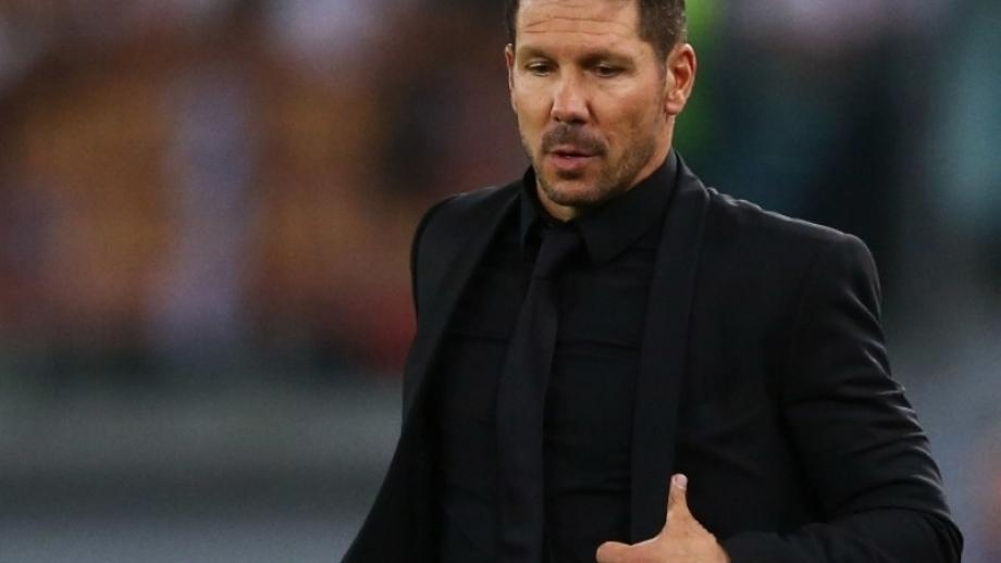 Simeone happy with Roman stalemate