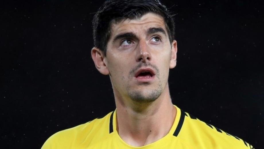 Courtois: Perfect time to face Arsenal