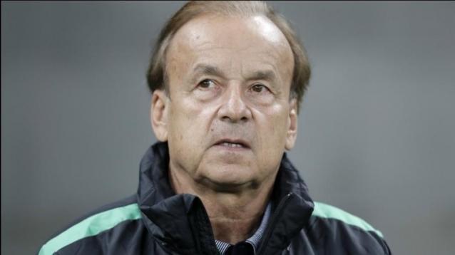 Nigerian coach Gernot Rohr