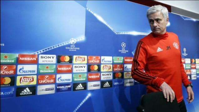 Manchester United coach Jose Mourinho