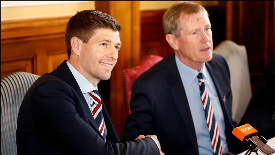 Glasgow Rangers' boss wants to dominate rivals Celtic