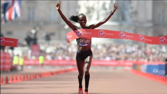 Kenya's Vivian Cheruiyot